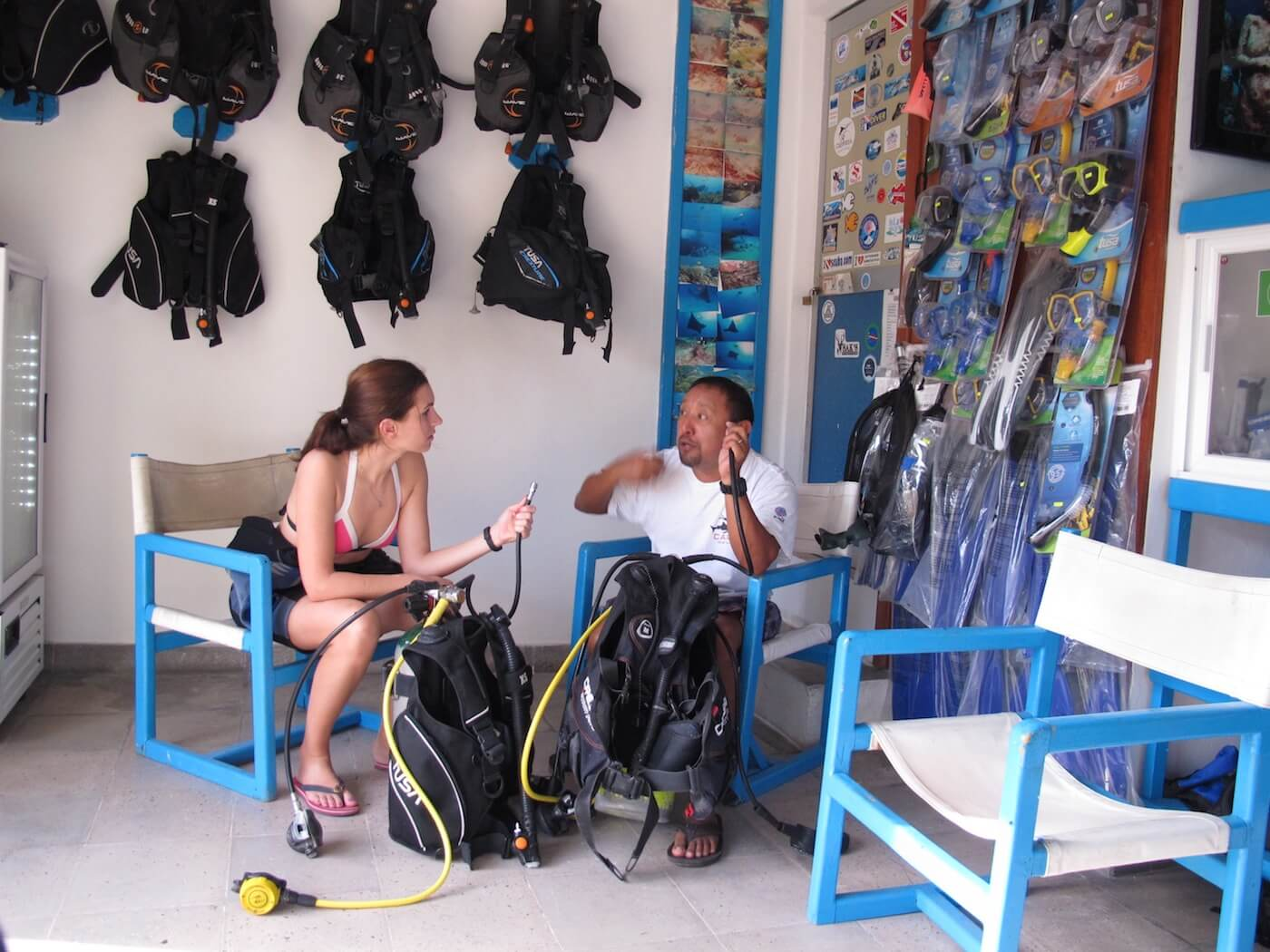 Snorkeling-Scuba-Diving-Tours-Isla-Mujeres-Carey-Dive-Center-3