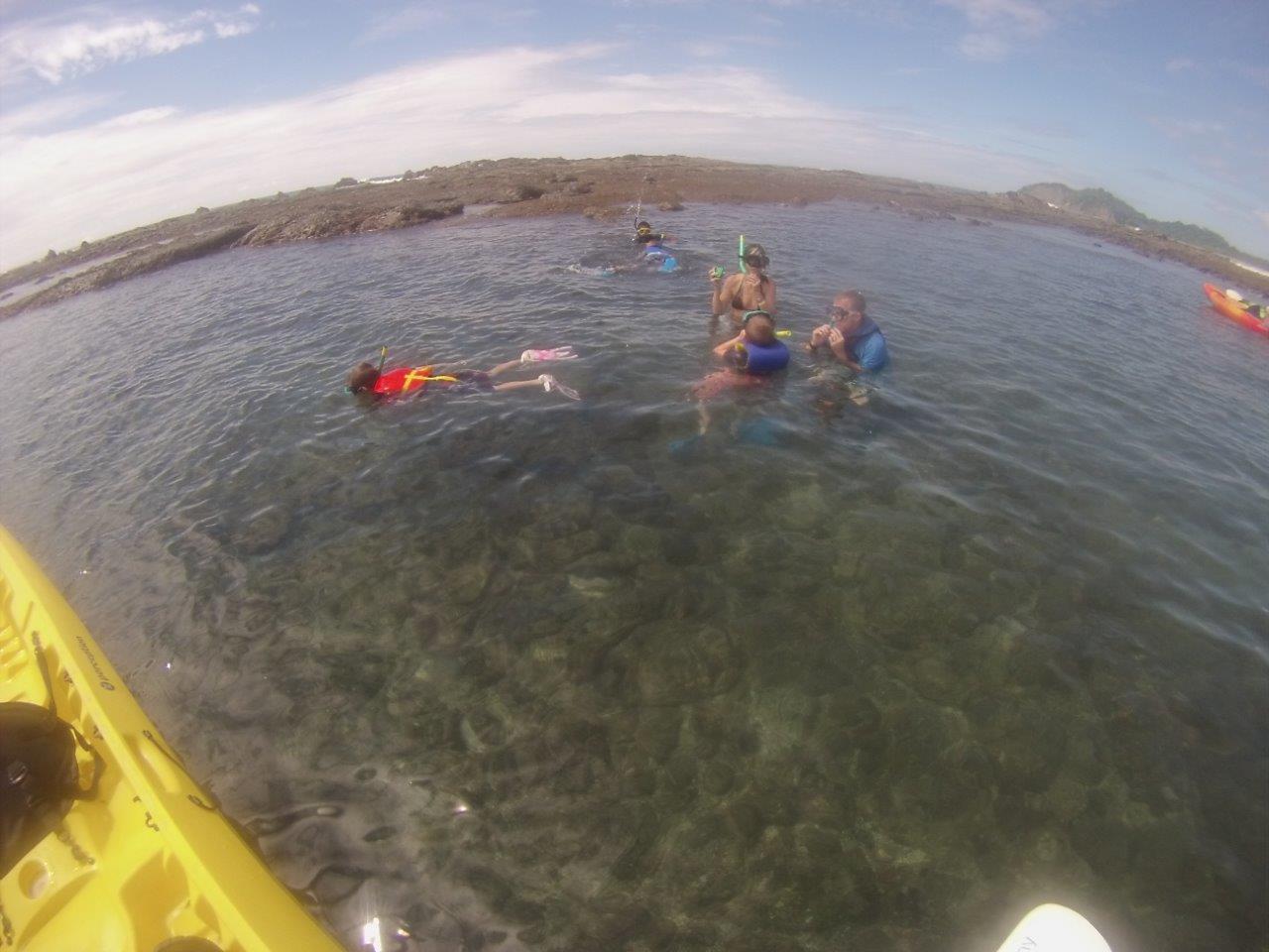 Snorkeling Carrillo Adventures