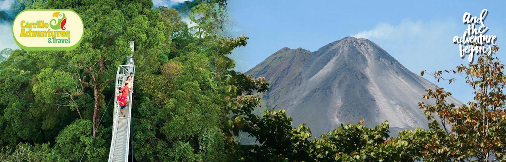 Arenal Volcano & Monteverde Cloud Forest