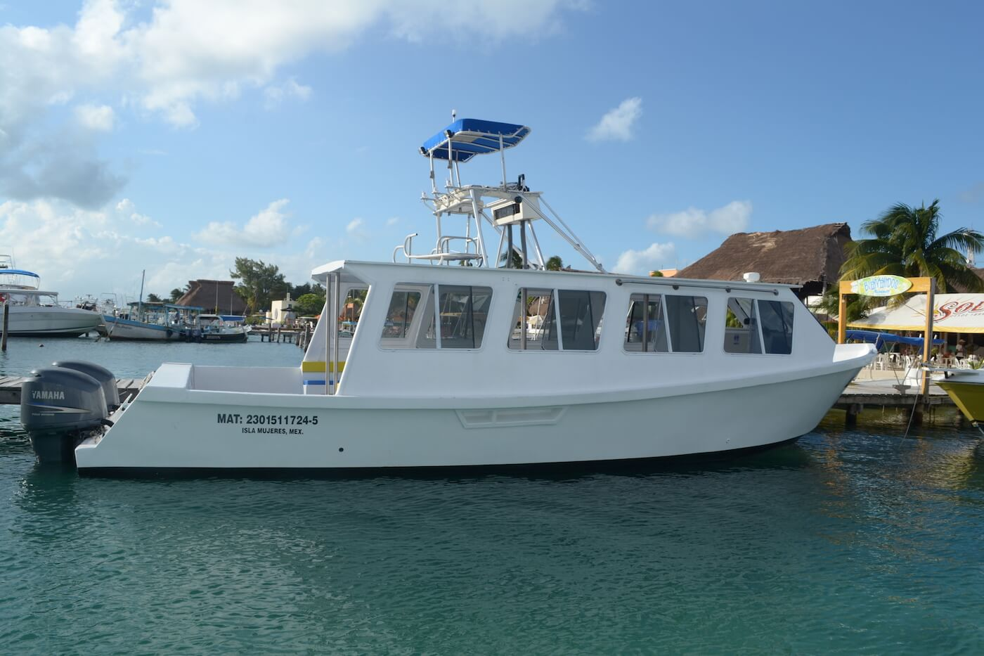Cancun-Dive-Center-Carbbean-Connection-Dive-Boat-4