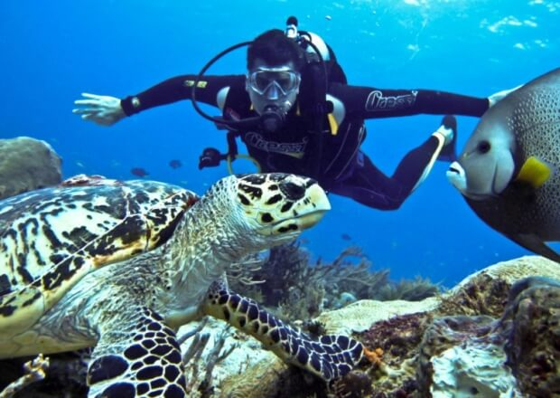 PADI-Advanced-Scuba-Dive-Certification-Course-Cancun-Riviera-Maya-2