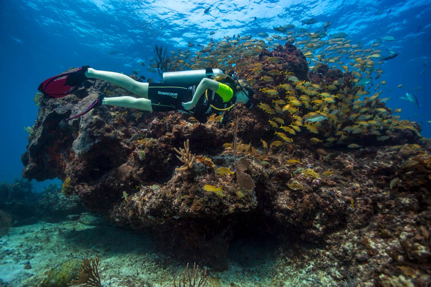 Scuba-Divers_Cancun-Dive-Center-Carbbean-Connection-2