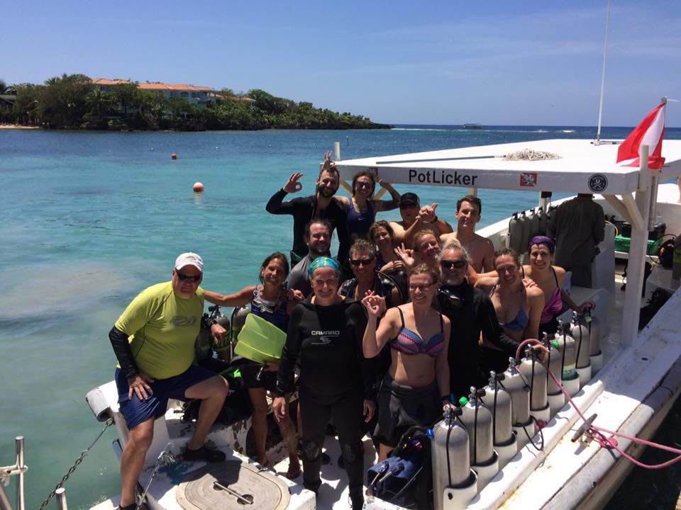 Best time of year to dive Roatan