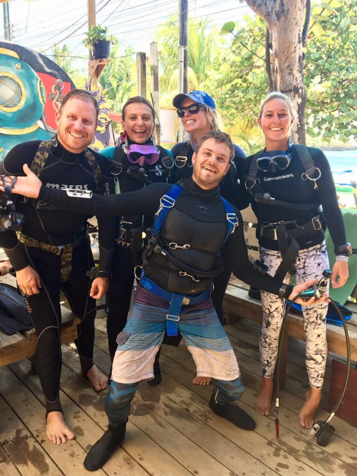 Coconut Tree Divers Staff