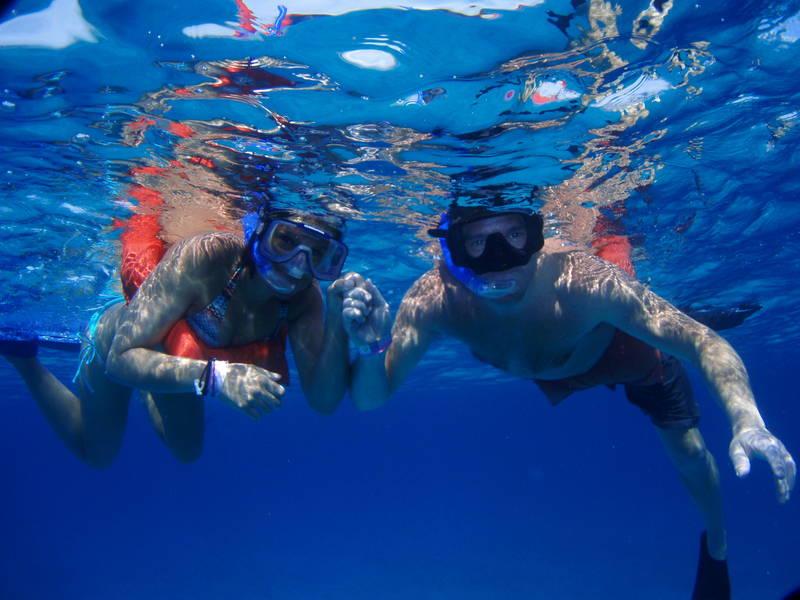Snorkelling Isla Mujeres
