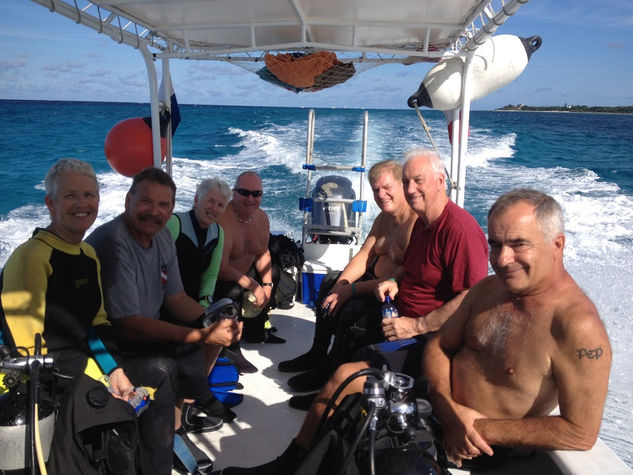 Scuba Dive in Cozumel