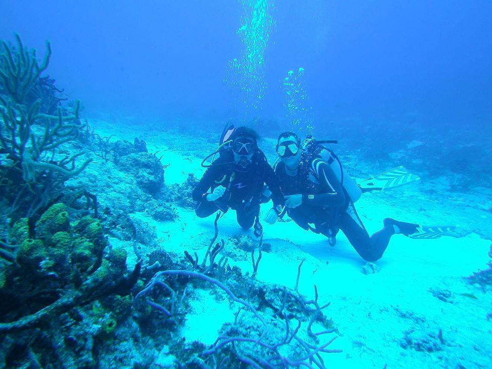 Diving in Cozumel Scuba Mau