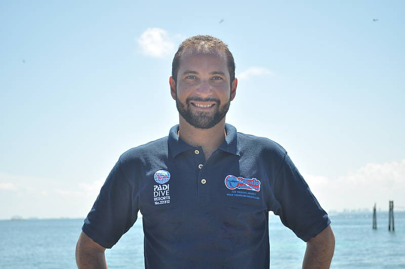 Andres Fernandez (General Manager & PADI Instructor)