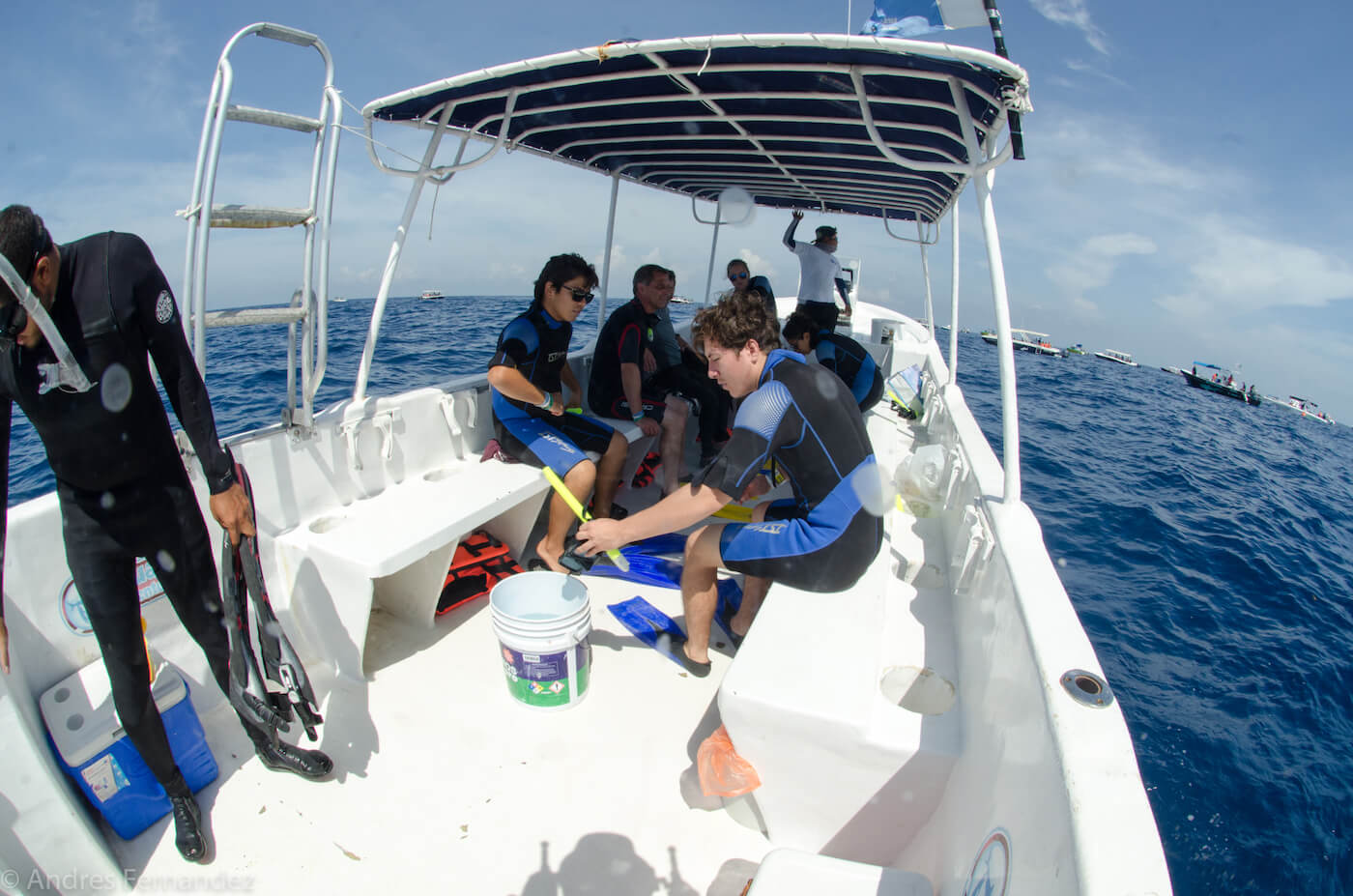 Isla Mujeres Dive Shop Scuba Diving and Snorkeling Tours-5