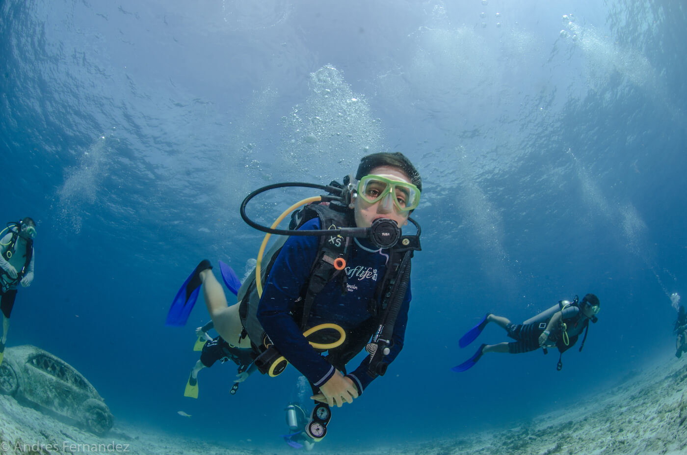 Isla Mujeres Scuba Diving Courses Squalo Adventures Dive Shop-8