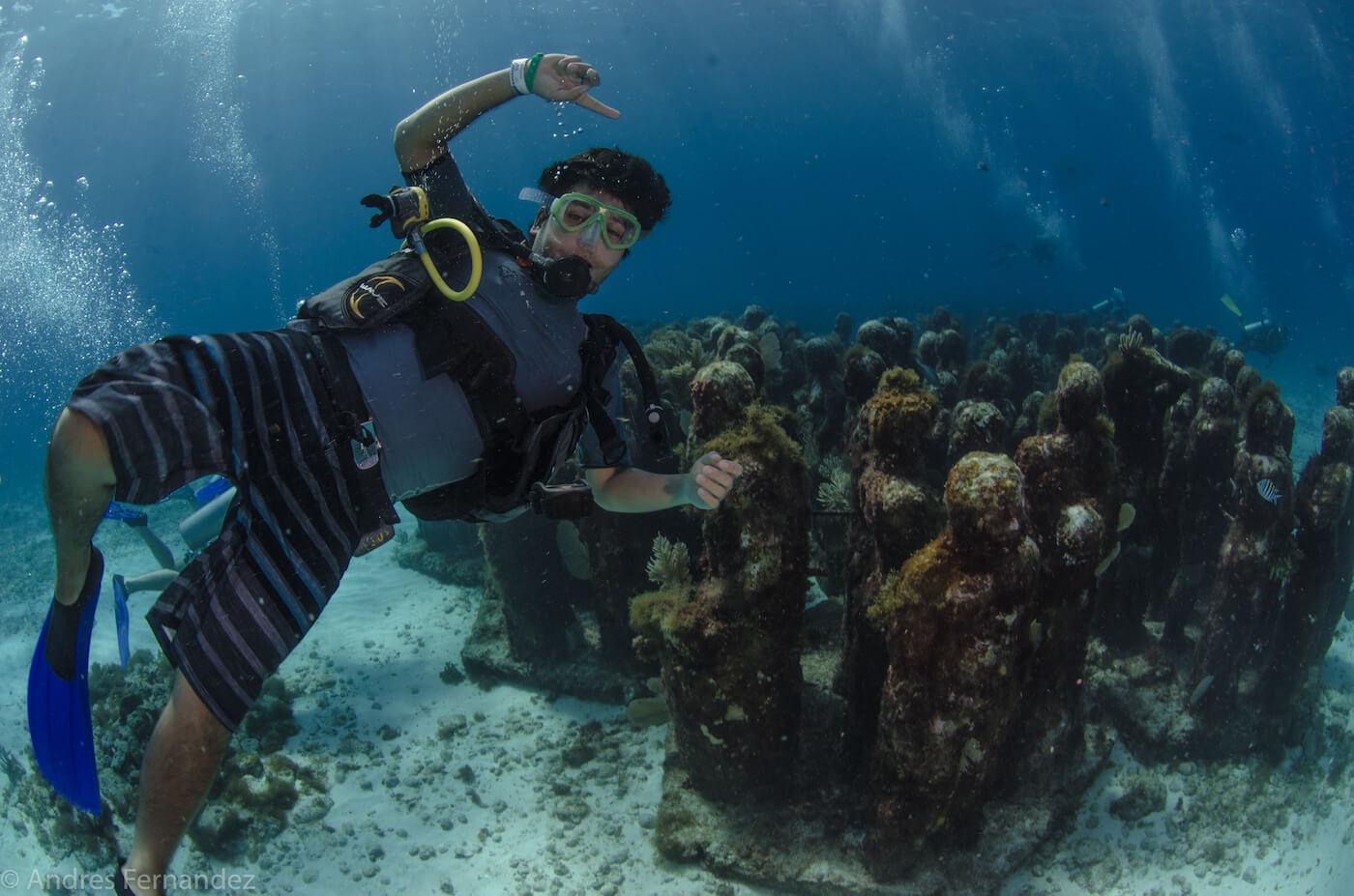 Isla Mujeres Scuba Diving MUSA Squalo Adventures-11