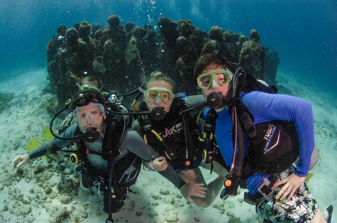Isla Mujeres Scuba Diving MUSA Squalo Adventures-9
