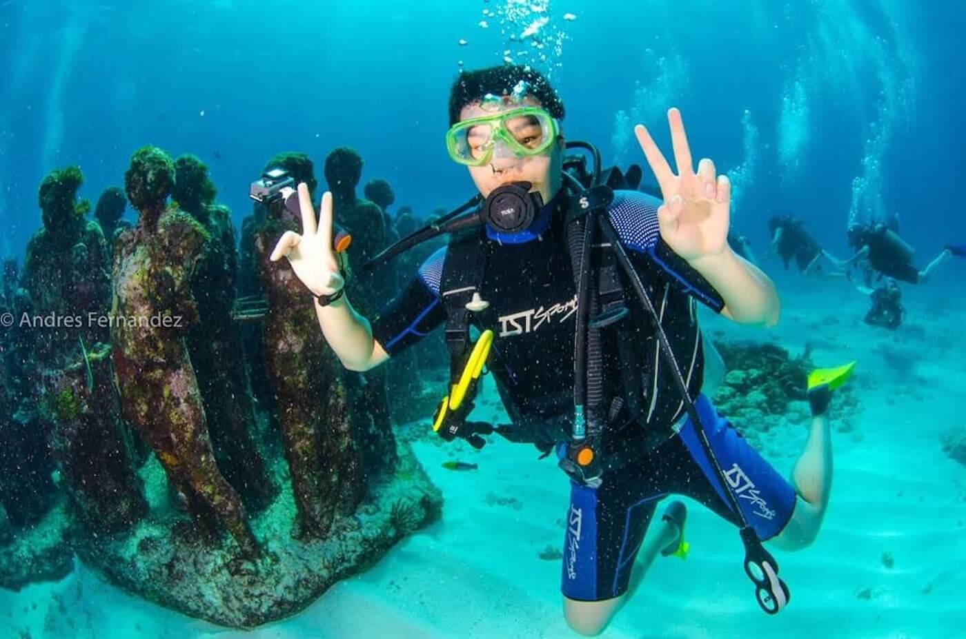 Isla Mujeres Scuba Diving Squalo Adventures-4
