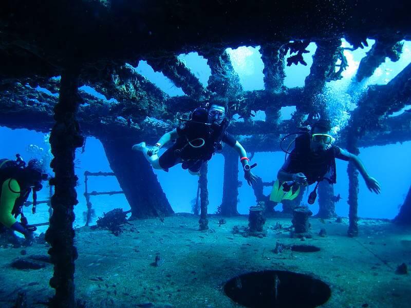 Isla Mujeres Shipwreck Scuba Diving Squalo Adventures-1