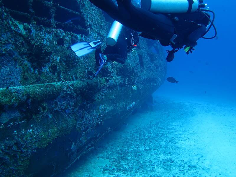 Isla Mujeres Shipwreck Scuba Diving Squalo Adventures-5